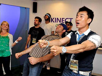 Kinect �������� �� PC ����������