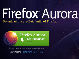 Вышла бета-версия Firefox для Windows 8