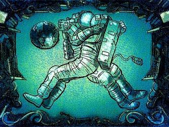 Секс космонавтка