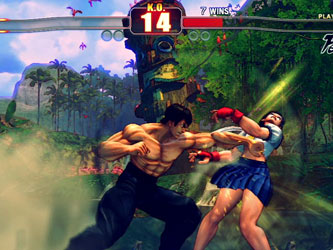 ������ �������� ������ ����� Street Fighter �� PC